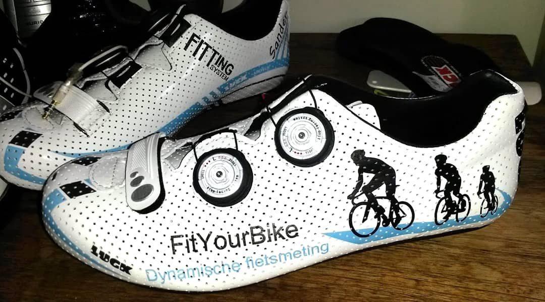 Voetklachten tijdens fietsen