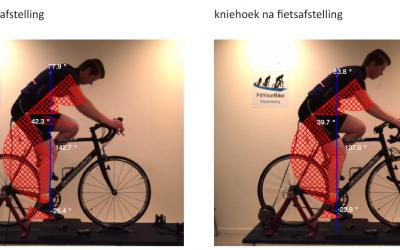 Altijd een stekend, zeurend en pijnlijk gevoel in nek en schouders tijdens fietsen.