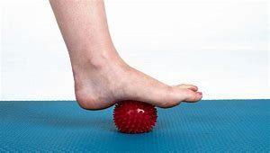 FitYourBike - massagebal bij voetklachten