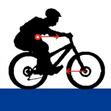 FitYourBike afstelling mountainbike afdaling